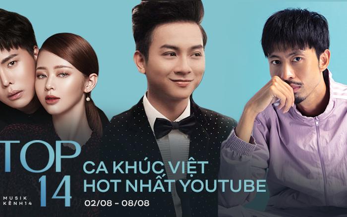 Sơn Tùng bất ngờ bật khỏi top 4, Đen Vâu vào thẳng top 2 chỉ sau 3 ngày trong khi Hoài Lâm vẫn quyết không rời vị trí quán quân những ca khúc Việt hot nhất Youtube tuần qua!