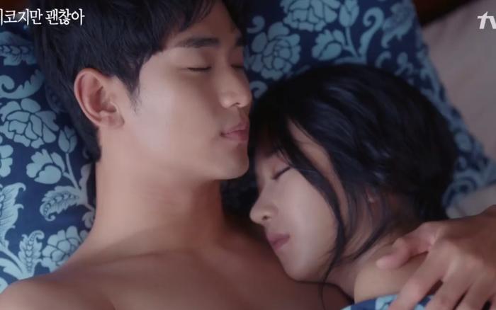Netizen phấn khích tột độ trước cảnh giường chiếu của Kim Soo Hyun - Seo Ye Ji ở tập cuối Điên Thì Có Sao