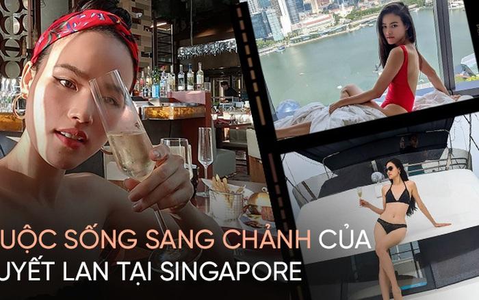 Cuộc sống Tuyết Lan ở Singapore: Đồ hiệu, du lịch