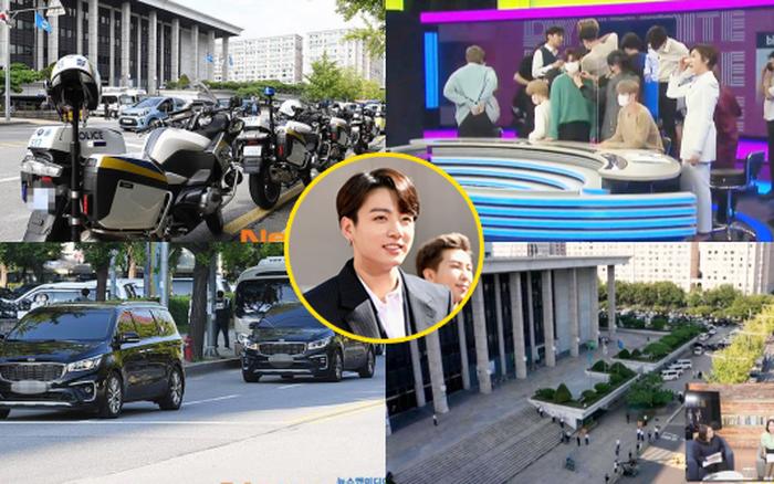 Chưa từng có tiền lệ: BTS là nhóm nhạc đầu tiên lên thời sự, đoàn xe cảnh sát dọn đường đón như nhân vật tầm cỡ quốc gia