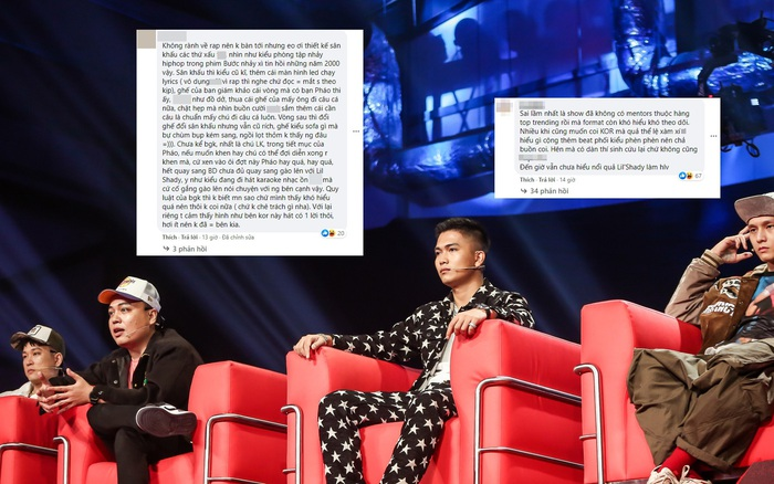 Netizen chỉ trích King Of Rap vì sân khấu tối, beat dìm thí sinh, luật khó hiểu... tất cả đều thua xa Rap Việt?