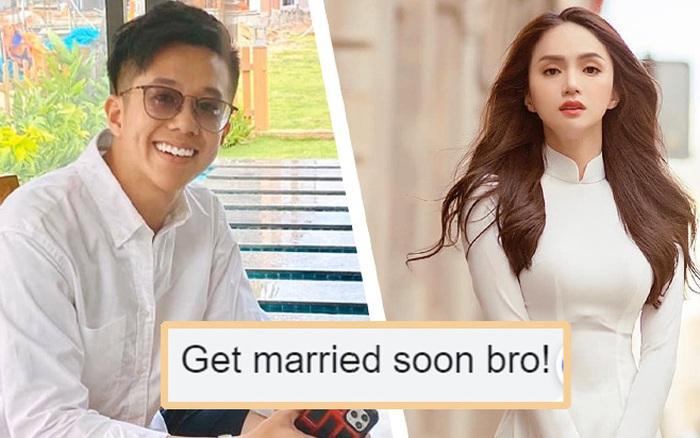 Bị bạn giục kết hôn khi đang hẹn hò Hương Giang, Matt Liu phản ứng ra sao?