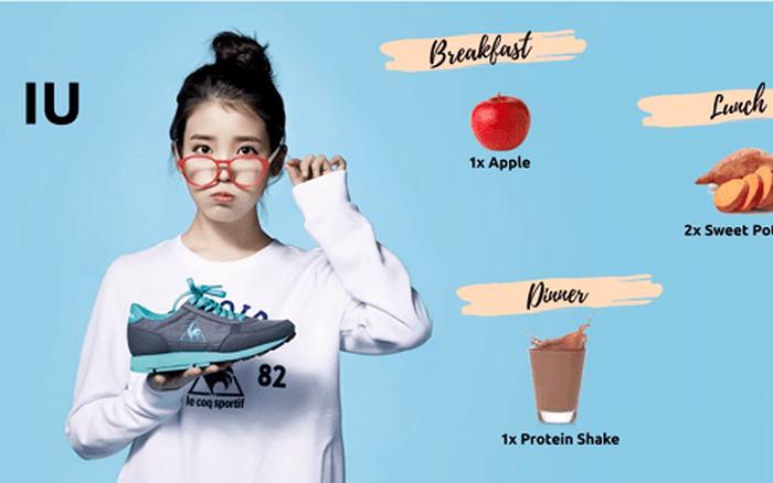 Học chế độ ăn kiêng của IU, hot blogger xứ Hàn giảm gần 3kg chỉ sau 3 ngày