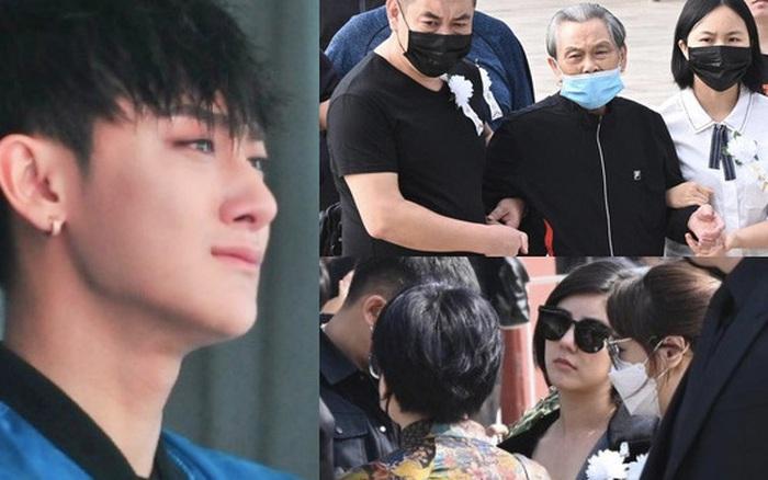 Lễ tưởng niệm bố Hoàng Tử Thao: Người thân đau đớn tiếc thương, mỹ nhân có mối quan hệ đặc biệt với nam idol lộ diện