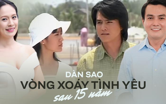 Dàn sao Vòng Xoáy Tình Yêu sau 15 năm: Cao Minh Đạt trở lại làm soái ca vạn người mê, hội nữ chính lui về ở ẩn