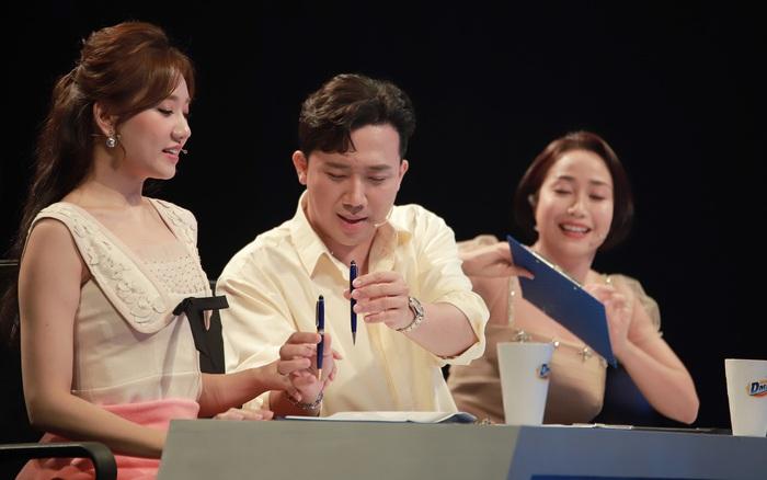 Hari Won ngỡ ngàng trước độ chặt chém của Trấn Thành: