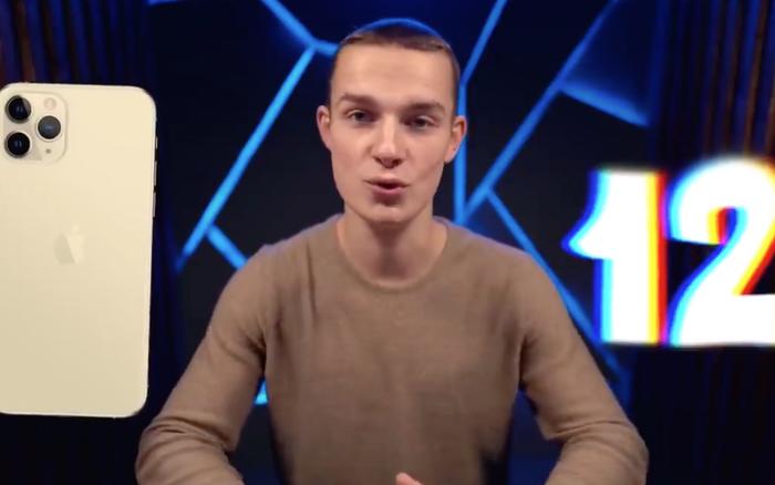 Anh chàng blogger tự tay làm ra chiếc iPhone 12, dân mạng sững sờ trước vẻ đẹp của nó!