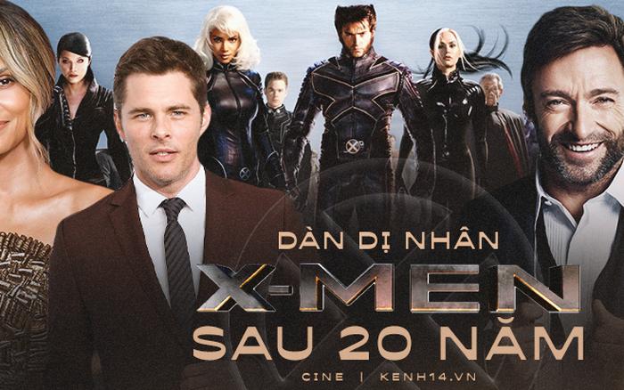 Dàn dị nhân X-Men sau 20 năm đều