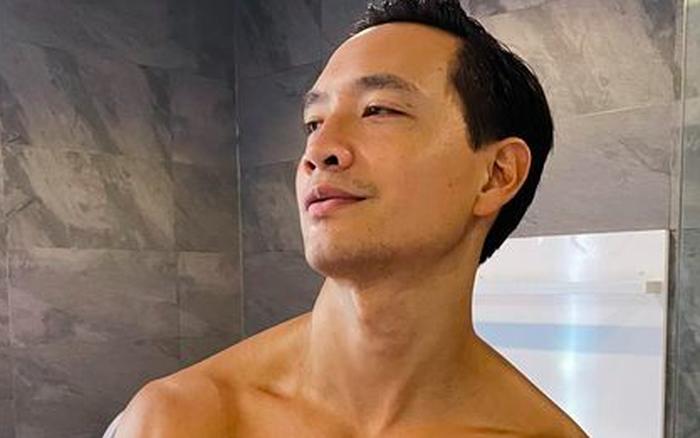 """Kim Lý đăng ảnh khoe body cuồn cuộn """"nóng mắt"""" do Hà Hồ chụp cho, nhưng chú thích kiểu gì mà vợ phải nhảy vào đính chính?"""