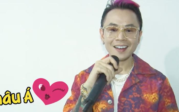 Binz mạnh mẽ khẳng định gu của mình là... Châu Á trong hậu trường Rap Việt!