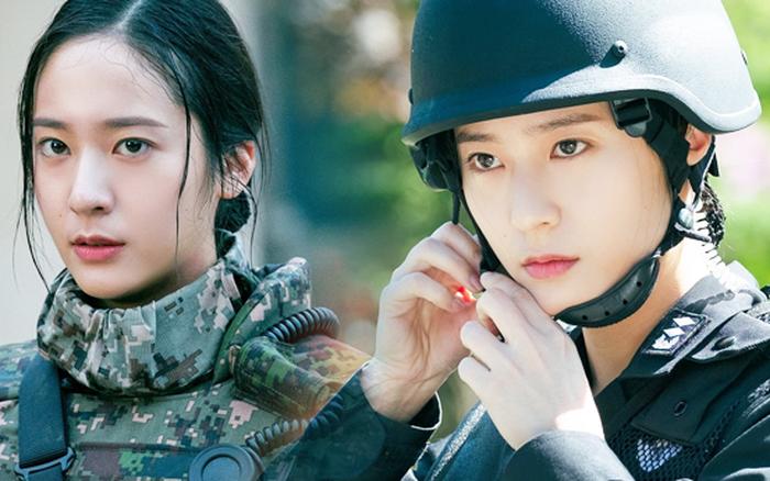Sau Kim Ji Won, cuối cùng  đã xuất hiện nữ thần quân đội xứ Hàn: Cân luôn ảnh siêu cận, ánh mắt sắc lạnh gây bão MXH
