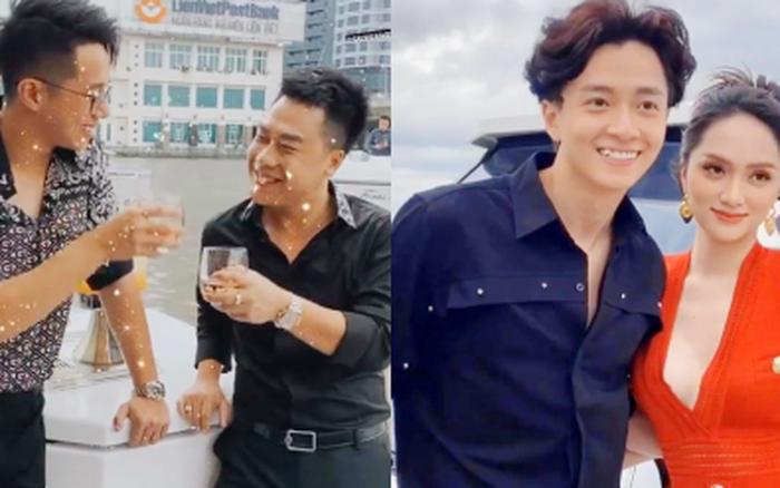 Hương Giang nói là làm: Mở tiệc du thuyền đãi Hoa Dâm Bụt và hội bạn, Matt Liu và bạn trai đại gia Hoà Minzy chiếm spotlight - người ấy là ai