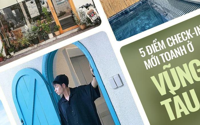 5 điểm check-in mới toanh ở Vũng Tàu cần