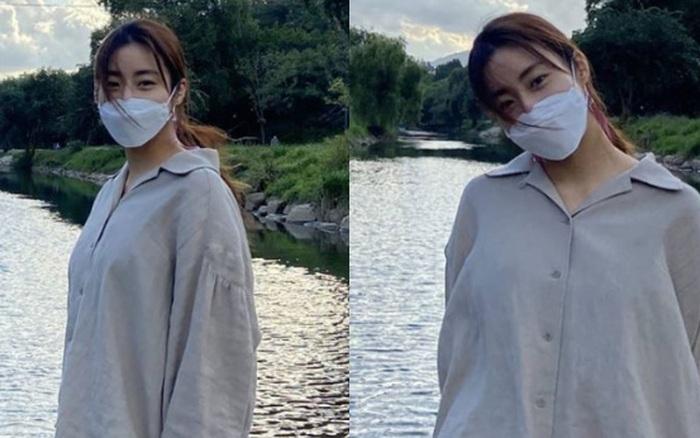 """""""Tình cũ Hyun Bin"""" Kang Sora đăng loạt ảnh đầu tiên sau hôn lễ bí mật, nhưng dấy lên nghi vấn cưới chạy bầu"""