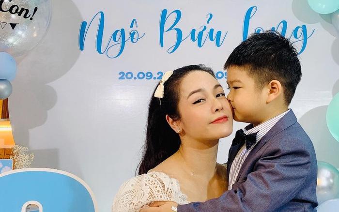 Nhật Kim Anh cuối cùng được gặp lại con, nhưng xót xa cảnh thuê khách sạn lén gặp bé và bị chồng cũ liên tục giám sát