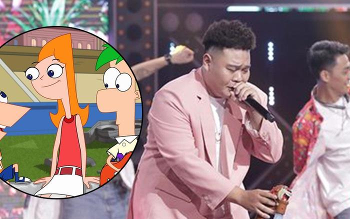 """Rap Việt: Yuno BigBoi team Karik """"mượn"""" câu hát tỏ tình trong phim hoạt hình nổi tiếng khiến fan bấn loạn"""