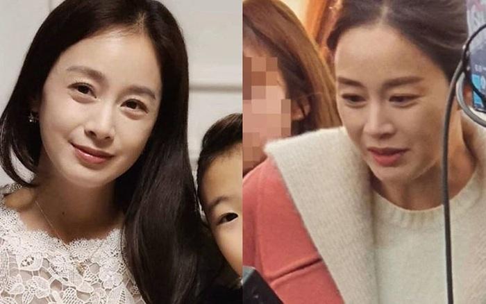 """Nhan sắc Kim Tae Hee bị Knet """"bóc trần"""": Lộ loạt khuyết điểm, thực tế quá khác với poster """"giả trân"""", nhưng quan niệm về lão hoá thay đổi tất cả"""