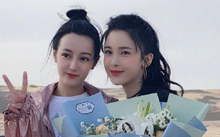 Tranh cãi trên Weibo: Địch Lệ Nhiệt Ba lép vế trước bạn gái tin đồn vô danh của Hồ Nhất Thiên khi chụp ảnh chung?