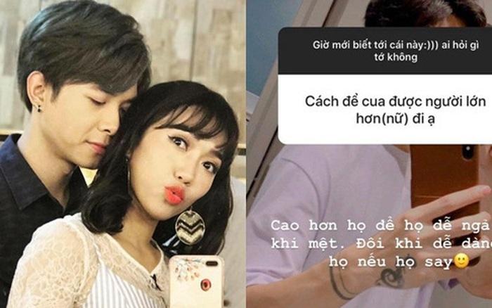 Anh Tú chỉ cách tán gái ngay trên Instagram, netizen liền tinh ý phát hiện ra chi tiết liên quan đến Diệu Nhi?