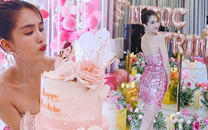 Ngọc Trinh trang hoàng biệt thự 50 tỷ mừng tuổi mới cực hoành tráng, phủ hồng từ nhà đến trang phục khoe body nóng bỏng