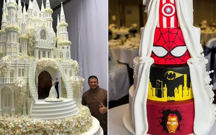 """Mạng xã hội """"bùng nổ"""" trước những chiếc bánh cưới độc lạ nhất hành tinh, bất ngờ hơn cả là phiên bản hoành tráng của nữ hoàng Elizabeth II"""