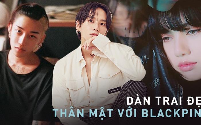Profile 2 trai đẹp công khai thân mật với BLACKPINK: Hết con trai Chủ tịch Naver đến dancer cực phẩm suýt