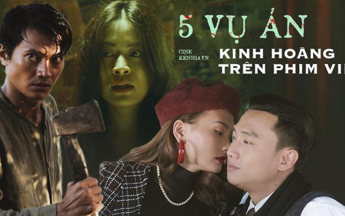 5 án mạng rùng rợn trên phim Việt: Quang Tuấn hai lần