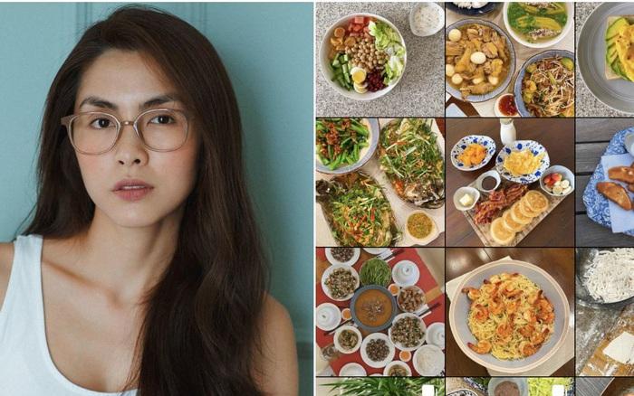 """Nấu ăn đẳng cấp như Hà Tăng: Một mình cân đủ mọi thể loại món, còn """"xây nhà"""" riêng chỉ để khoe thành quả của bản thân!"""