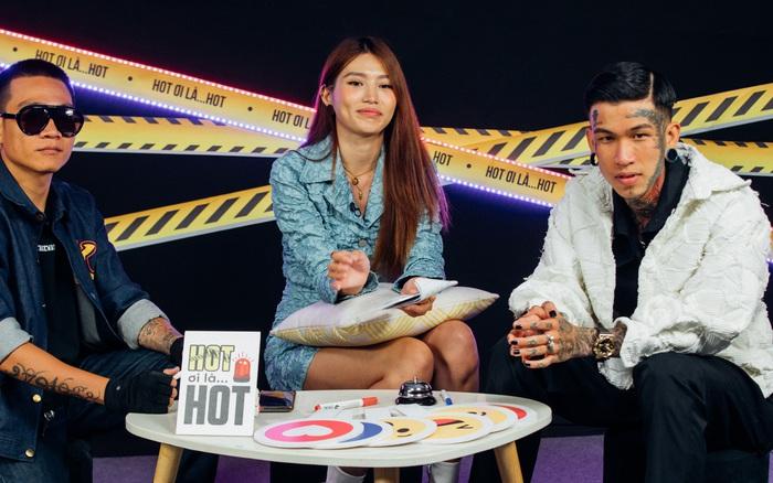 Dế Choắt hé lộ hình xăm đôi với Wowy, bật mí câu nói của Trấn Thành giúp có thêm động lực thi Rap Việt