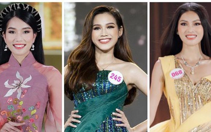 """Đọ thành tích top 3 Hoa hậu Việt Nam 2020: Á hậu 1 """"vượt mặt"""" cả Hoa hậu lẫn Á hậu 2"""