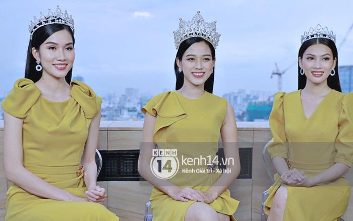 Livestream giao lưu độc quyền với Top 3 Hoa hậu Việt Nam 2020: Đỗ Thị Hà cực xinh, 2 Á hậu sẵn sàng chia sẻ tất tần tật cùng fan!