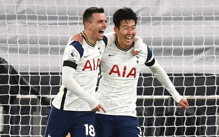 Tottenham 2-0 Man City: Son Heung-min tỏa sáng đưa
