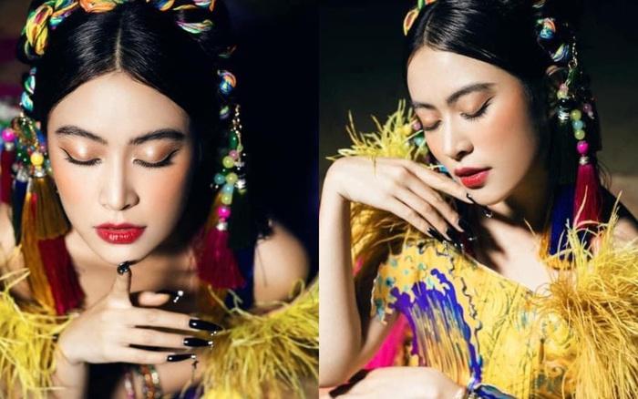 Hoàng Thuỳ Linh gây sốt với ảnh hậu trường Chung kết HHVN 2020, netizen cảm thán: