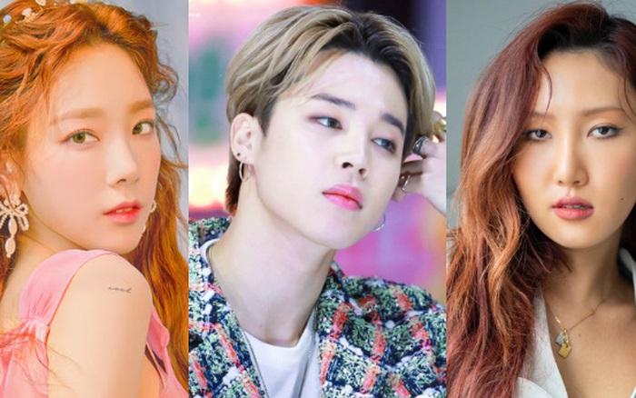 Bất ngờ BXH 30 idol hot nhất Kpop : Jimin và