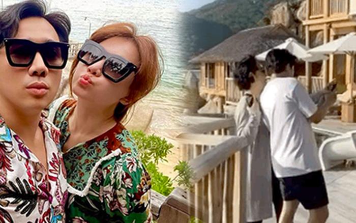 """Trấn Thành làm """"phó nháy"""" cực có tâm nhưng mẹ vợ quyết ở khác villa du lịch với con, Hari Won hé lộ ngay lý do!"""