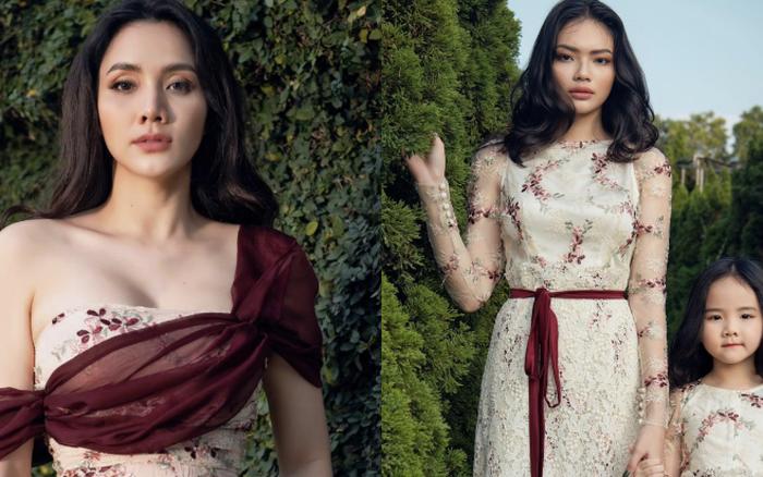 """Nhìn bộ ảnh nhà Trang Nhung là hiểu sức mạnh của """"gen trội"""": Nàng mẫu nóng bỏng, cháu gái từng thi Hoa hậu nổi bần bật"""