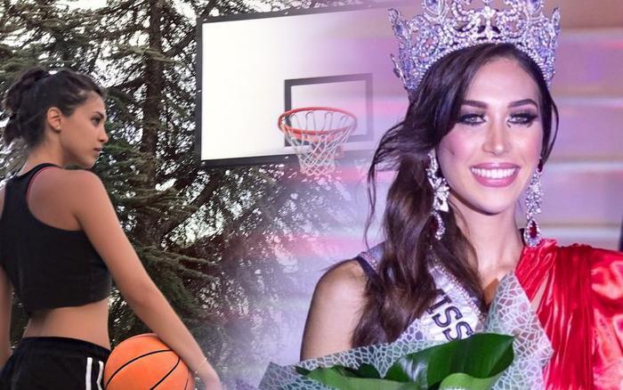 Mỹ nhân làng bóng rổ đăng quang Hoa hậu Hoàn vũ Tây Ban Nha, nhìn đôi chân dài miên man mà choáng ngợp toàn tập