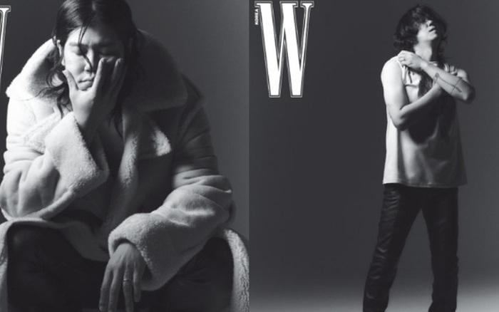 """Từng bị miệt thị """"xấu xí"""", nay chồng của Lee Hyori khiến dân tình """"ố á"""" khi lên tạp chí: Thần thái căng đét, bắp tay cuồn cuộn gây choáng"""