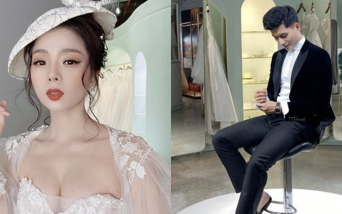 Dính tin đồn hẹn hò Lệ Quyên, Lâm Bảo Châu bất ngờ đăng ảnh thử đồ cưới kèm chú thích