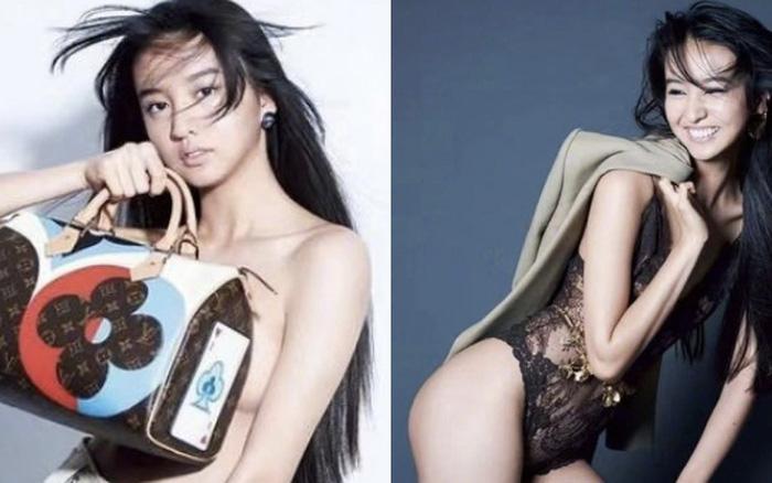 """Con gái nam thần số 1 Nhật Bản Takuya Kimura gây tranh cãi khi chụp bán nude ở tuổi 17, """"thả rông"""" khoe đường cong """"bỏng mắt"""""""