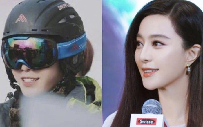 """Bức ảnh """"bắt lú"""" cực mạnh nhà Phạm Băng Băng: Ông em Phạm Thừa Thừa che mặt, cả Weibo nhận nhầm thành bà chị xinh đẹp"""
