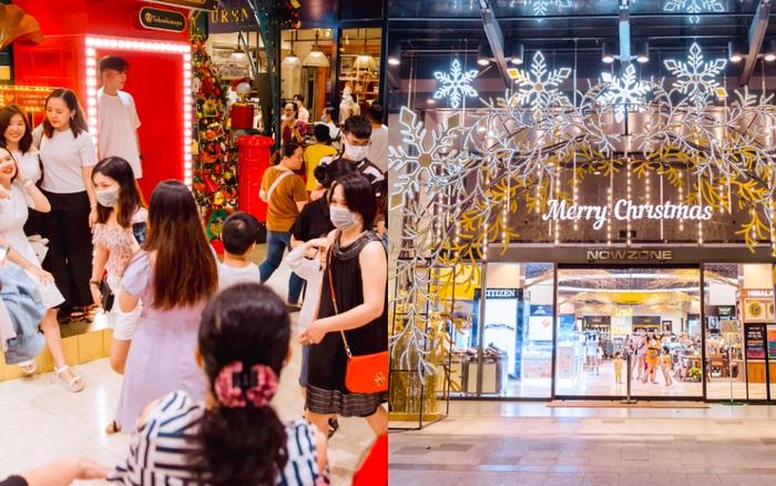 """Cảnh trái ngược tại loạt trung tâm thương mại hot nhất Sài Gòn dịp Giáng sinh: Nơi đông chen không thở nổi, chỗ lại """"vắng như chùa Bà Đanh"""""""