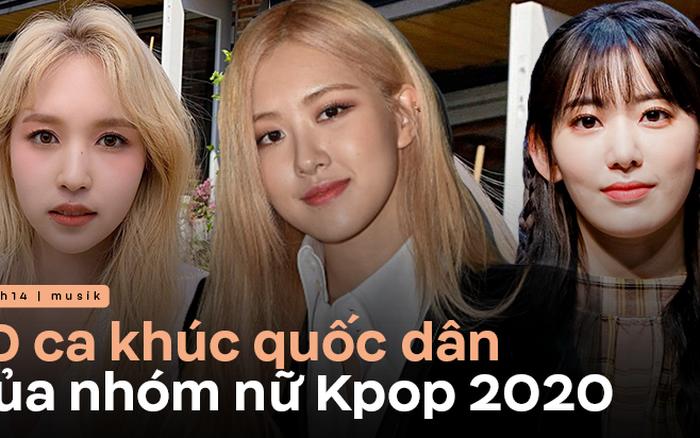 10 ca khúc nhóm nữ được stream mạnh nhất 2020: TWICE để thua BLACKPINK và IZ*ONE, nhóm nữ mới debut đã tan rã cũng kịp góp mặt