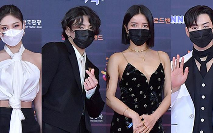 """Tranh cãi siêu thảm đỏ KBS Gayo Daechukje 2020: TWICE - aespa hoá thảm hoạ, BTS và chị cả MAMAMOO vòng 1 khủng vẫn không """"cứu"""" nổi"""