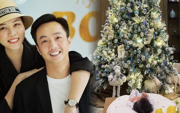 Mùa Giáng sinh của con gái Cường Đô La - Đàm Thu Trang: