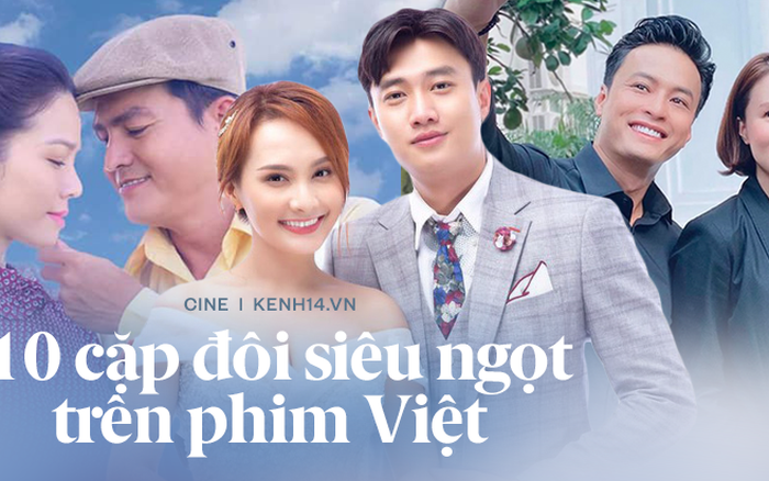 10 kiểu phản ứng hóa học dữ dội của cặp đôi phim Việt: Khoái nhất là xem Bảo Thanh - Quốc Trường ngược nhau tơi bời