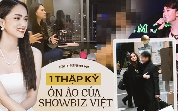 Những scandal tai tiếng nhất 1 thập kỷ Vbiz: Đan Trường bị chuốc thuốc, biến của Hà Hồ - Minh Hằng chưa căng bằng Hương Giang