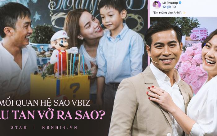 5 cặp đôi Vbiz làm bạn hậu tan vỡ: Cường Đô La gọi điện khi Hà Hồ sinh đôi, Việt Anh kỷ niệm luôn... 1 năm ly hôn