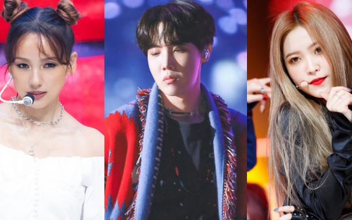5 idol kém nổi nhất nhóm