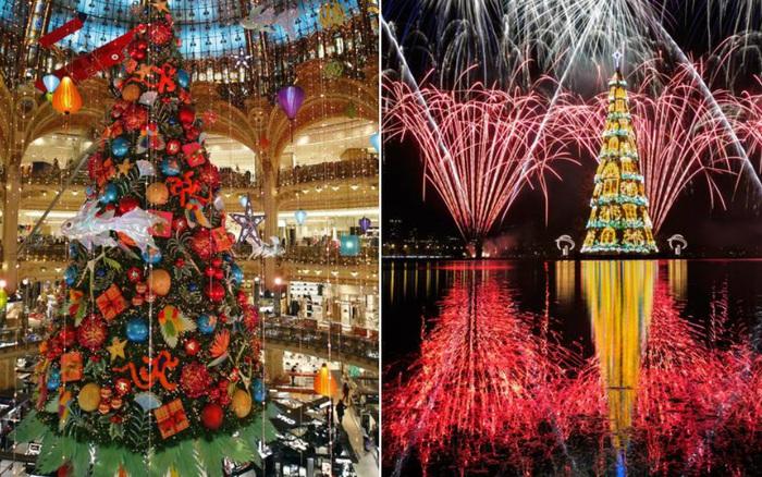 """Điểm danh loạt cây thông Noel đẹp nhất thế giới dịp Giáng sinh 2020: Địa điểm cuối cùng khiến dân mạng """"choáng ngợp"""" vì quá hoành tráng"""